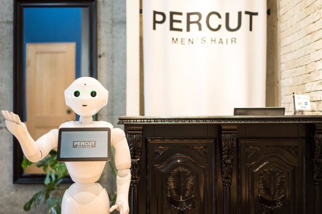 Pepper the robot suggests what haircut is best for you at Japanese barber shops【Video】