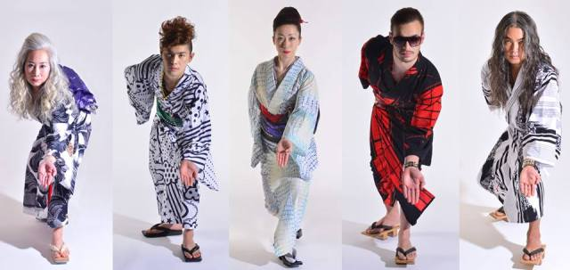 Rumi Rock's line of edgy yukata is in pop-up shops, just in time for the summer festival season