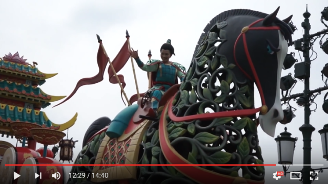 "Japanese TV program chuckles at Shanghai Disneyland's ""non-Disney"" characters, like…Mulan?"