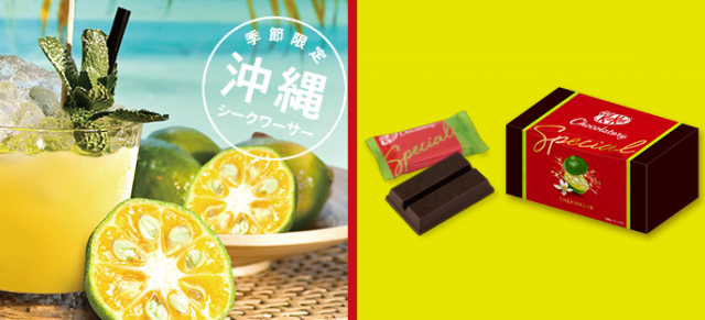 Okinawan citrus is the latest addition to Kit Kat's awesome only-in-Japan lineup