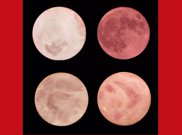"Can you tell which of these ""full moons"" are actually slices of ham?"