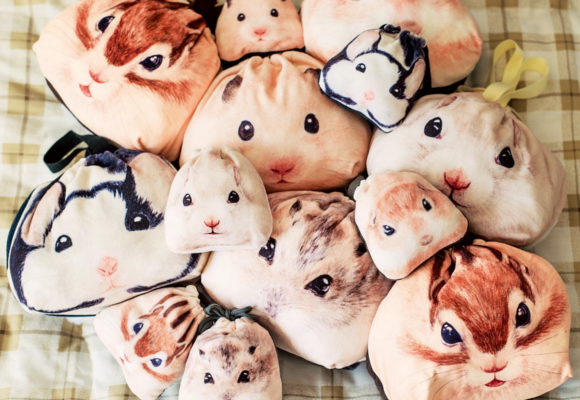 Fill up some round fuzzy cheeks of your own with squirrel, hamster and chipmunk bags【Pics】