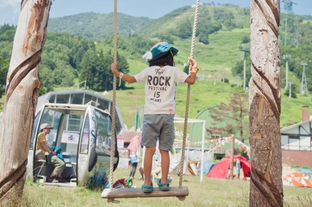 Think kids can't enjoy a rock festival? Facilities at Fuji Rock Fest will make you think again!