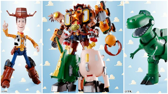 "Toy Story's Woody and pals join to form ""Super Mecha Toy Story Robot Sheriff"" 【Pics/Vid】"