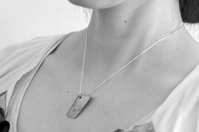 Wear a genuine piece of Japanese sword around your neck with beautiful new jewellery range