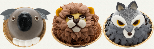 These adorable animal cakes may be too cute to eat, but we'll still try!【Photos】