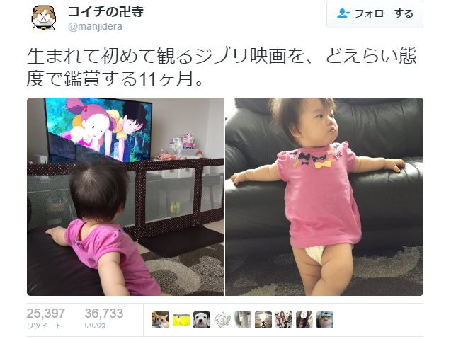 Young girl's reaction to her first Ghibli movie brings internet to collective squeals of delight