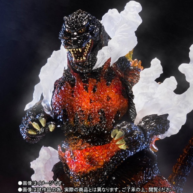 We've got a burning desire for a Godzilla figure that won't melt(down) our city