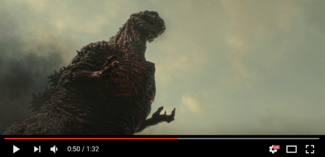Japan's Godzilla movie looks darker than ever in director Hideaki Anno's new trailer【Video】