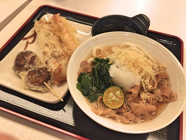 Tamoya Udon in Singapore has something its outlets in Japan don't