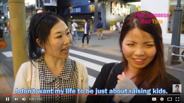 What do Japanese people think of their country's low birthrate? 【Video】