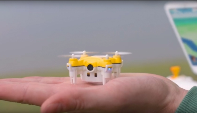 "Awesome ""Poké-drone"" video shows how to catch the monsters in Pokémon Go from the air【Video】"