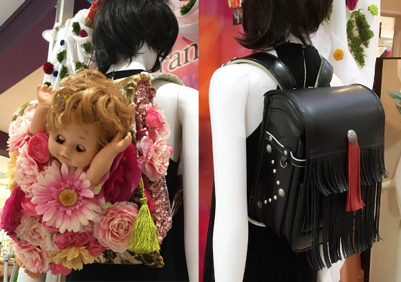 New range of Japanese randoseru school backpacks turns heads with cute and crazy details