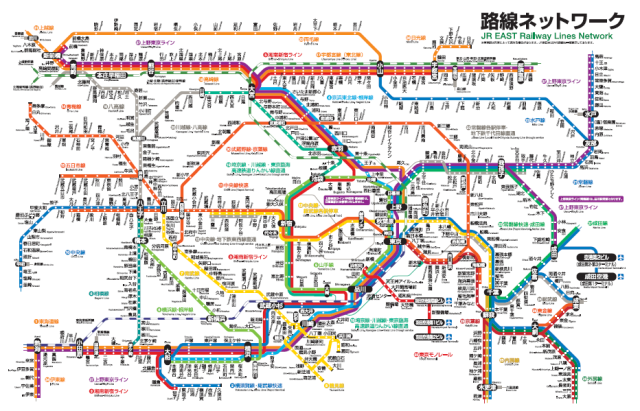 Crazy comparison shows why Tokyo's massive train network even freaks out some Japanese people