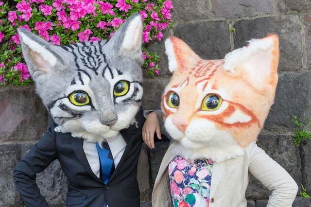 Cosplay like a cool cat with an ultra-realistic, giant cat head from Japan!
