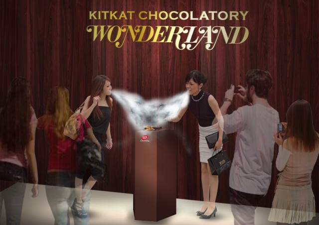 """New """"Minus-196 Degrees Celsius"""" Japanese Kit Kat cooled by liquid nitrogen available this summer"""