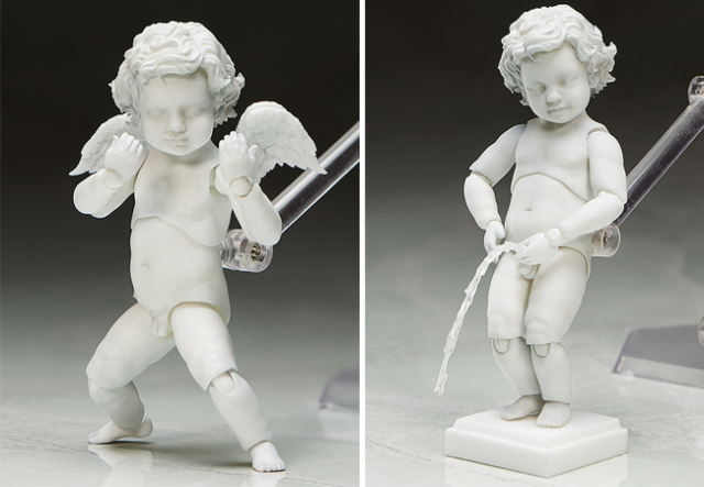 Hey, aspiring manga artists! Wanna draw a cherub peeing on something and/or picking a fight?