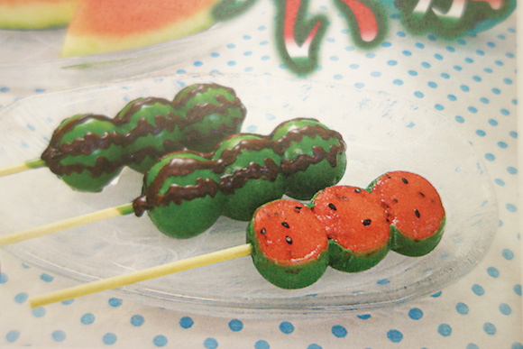 Watermelon Dango: Traditional Japanese dessert gets a new look for summer with an amazing flavour