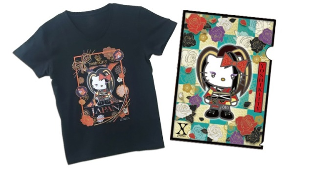 Hello Kitty teams up with X Japan's Yoshiki to rock out in Yoshikimono!