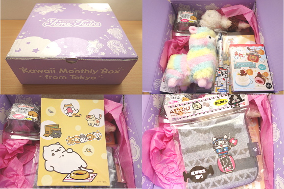 "New Yume Twins ""Kawaii Monthly Box"" from Tokyo ships cute Japanese items worldwide!"