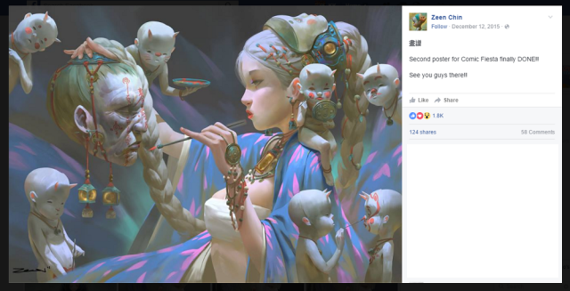 Malaysian illustrator creates art based on Asian legends for magnificent results【Art】