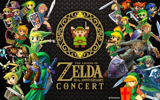 Hey! You'll definitely want to listen to the Legend of Zelda's 30th Anniversary concerts