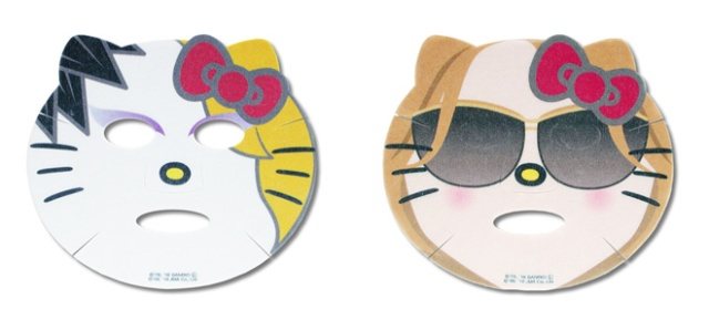 Become a rocking cat with the Yoshikitty Narikiri Face Pack!
