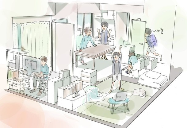 """Japanese fans fund """"Animator Dormitories"""" to help young anime artists working in Tokyo"""