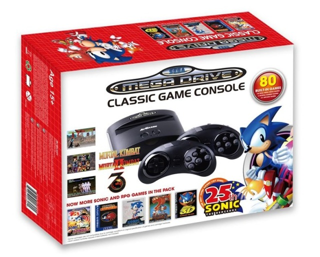 Old-School console war reignites: Sega releases mini Mega Drive/Genesis against tiny Nintendo NES