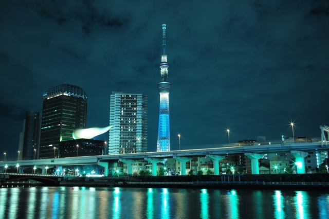 Check out the one-month electric bills for Tokyo Tower, Skytree and more!