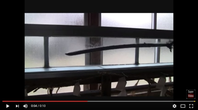 Oddly-satisfying video shows katana warping and bending in water as it is forged