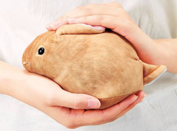 Adorable bunny pouches from Japan look like real, live rabbits!