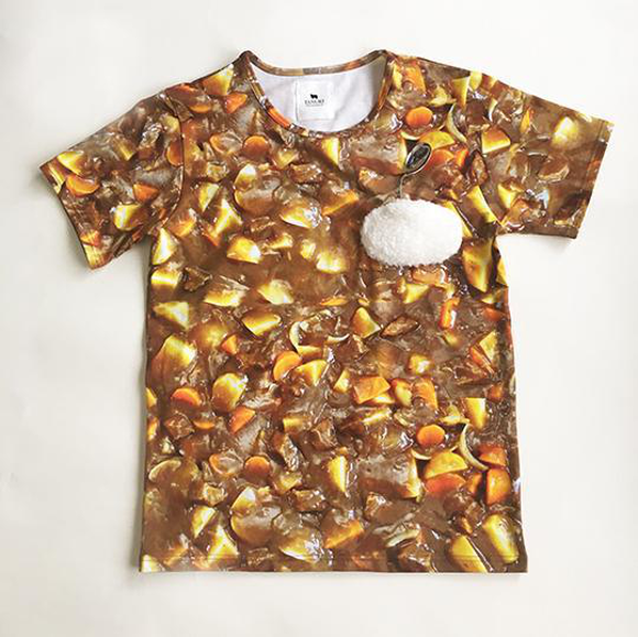 Want everyone to lick their lips when they look at you? This curry shirt will have them drooling