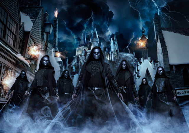 Death Eaters set to attack Osaka in invasion of Universal Studios Japan's Harry Potter area