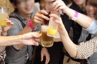 ポケモンgoコン-乾杯