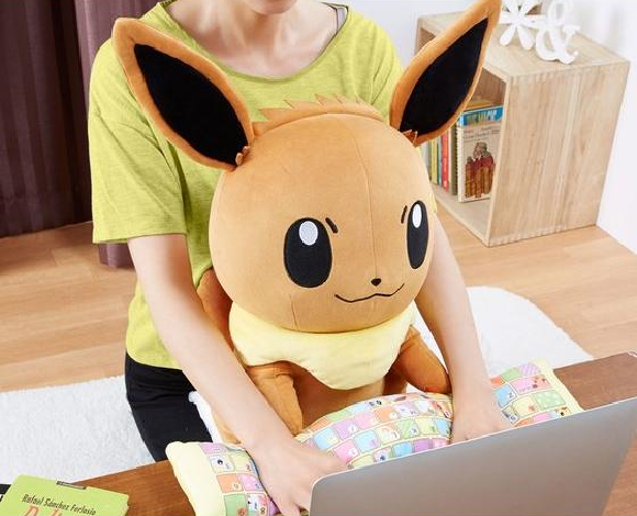 Pokémon's Eevee becomes the latest adorable PC cushion wrist rest from Japan【Photos】