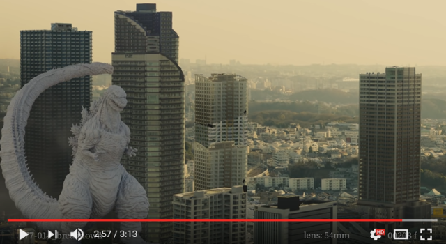 Behind-the-scenes video shows the CG process used to create Japan's new Godzilla 【Video】