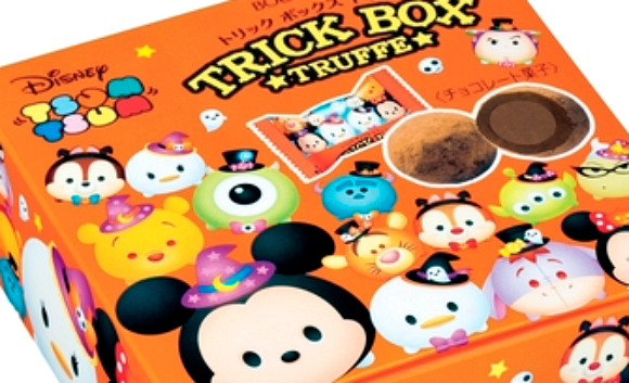 Trick or treat! These Tsum Tsum Trick Box Truffles are sure to tickle your Halloween spirit