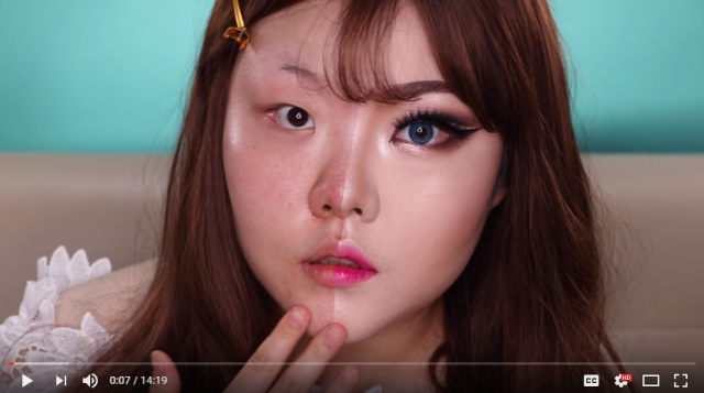 The power of makeup shows a daring transformation【Video】