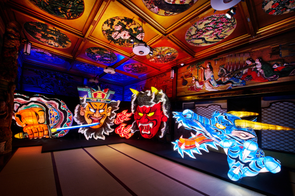 Awash in the lights and colors of traditional Japan at Meguro Gajoen's brilliant summer event