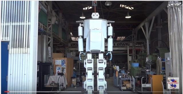 Small Osaka company gradually working its way to an 18-meter rideable robot