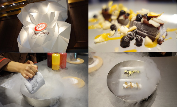 We try Japanese liquid nitrogen Kit Kats at the new Below Freezing Chocolatory in Tokyo