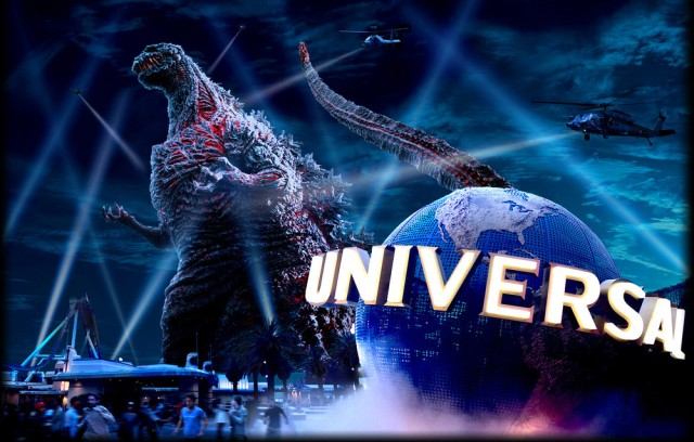 Godzilla Stomps Into Universal Studios Japan for New Attraction in 2017