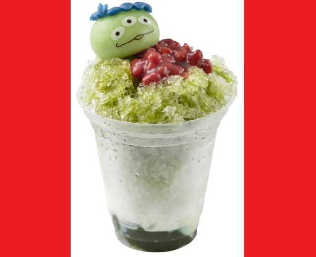 Toy Story's Little Green Men have invaded a popular Tokyo Disney summer treat
