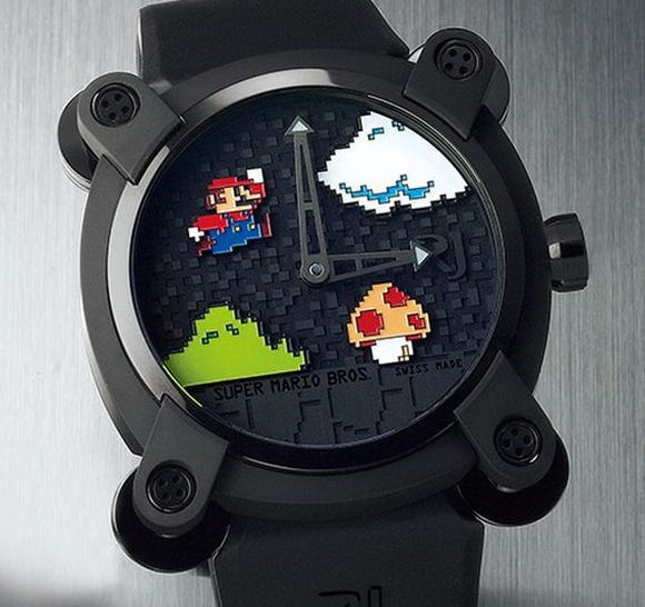 This ornate Super Mario Bros. watch can be yours for just, oh, US$27,000