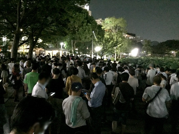 Mini stampedes in Tokyo's Ueno Park as it becomes a nest for rare Pokémon GO character【Video】