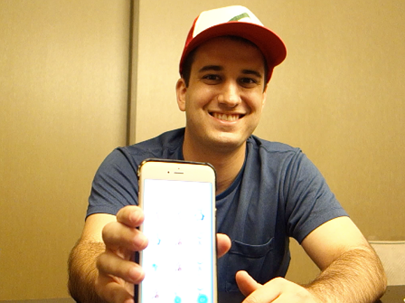 We catch up with world's first Pokémon Go master, Nick Johnson, in Tokyo