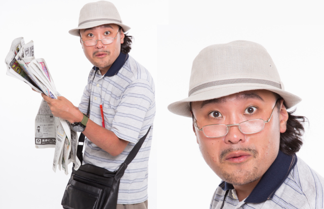Need a new cosplay idea? How about dressing up as an old Japanese man?【Pics】