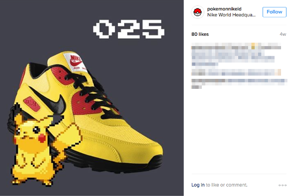 Fans use Nike customisation service to create awesome Pokémon Sneakers