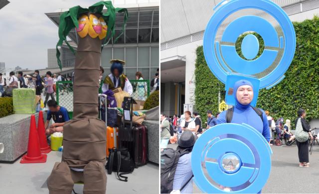 Hilarious Pokémon cosplay at Comiket 90 includes PokéStops and Exeggutor Alola form【Pics】